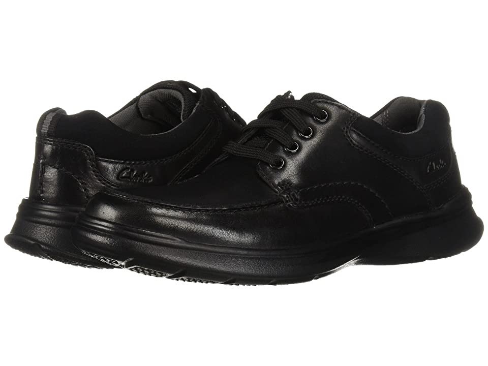 Clarks Cotrell Edge (Black Smooth Leather) Men