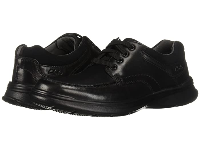 Clarks  Cotrell Edge (Black Smooth Leather) Mens Shoes
