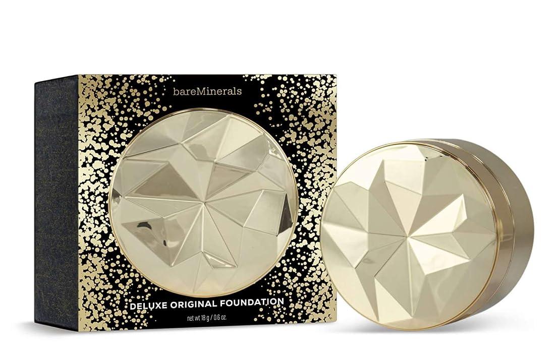 弾丸無条件薬用ベアミネラル Collector's Edition Deluxe Original Foundation Broad Spectrum SPF 15 - # Medium Tan 18g/0.6oz並行輸入品
