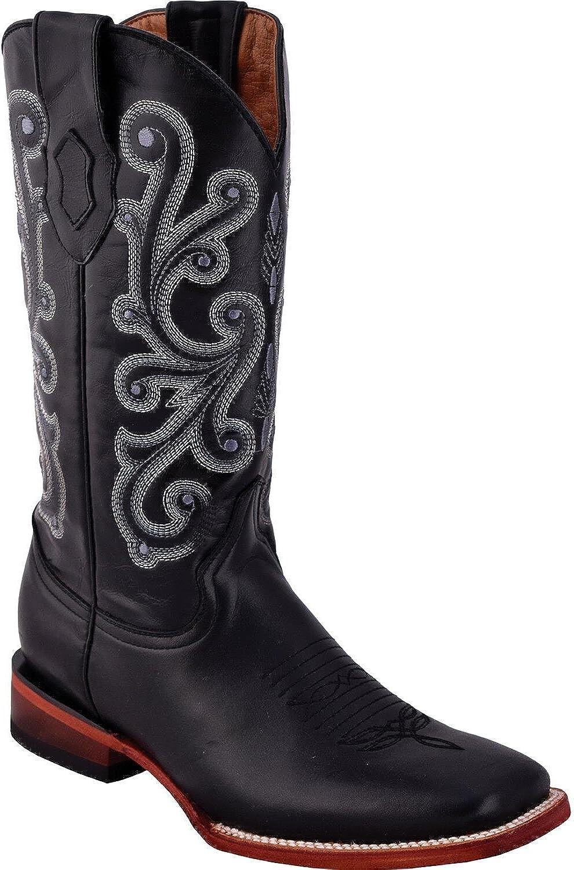 Ferrini Men's French Calf Cowboy Boot Square Toe