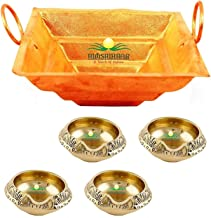 Combo of huwan kund & kuber Deepak, Poojan Purpose, Indian Cultural Religious Item Best for Home, Office, Gifts Diwali Poo...