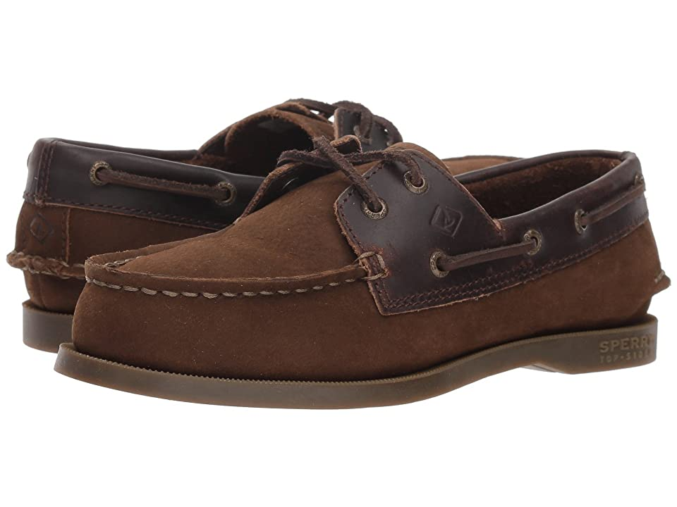 Sperry Kids Authentic Original (Toddler/Little Kid/Big Kid) (Brown Buck Leather) Kids Shoes