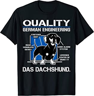quality german engineering dachshund