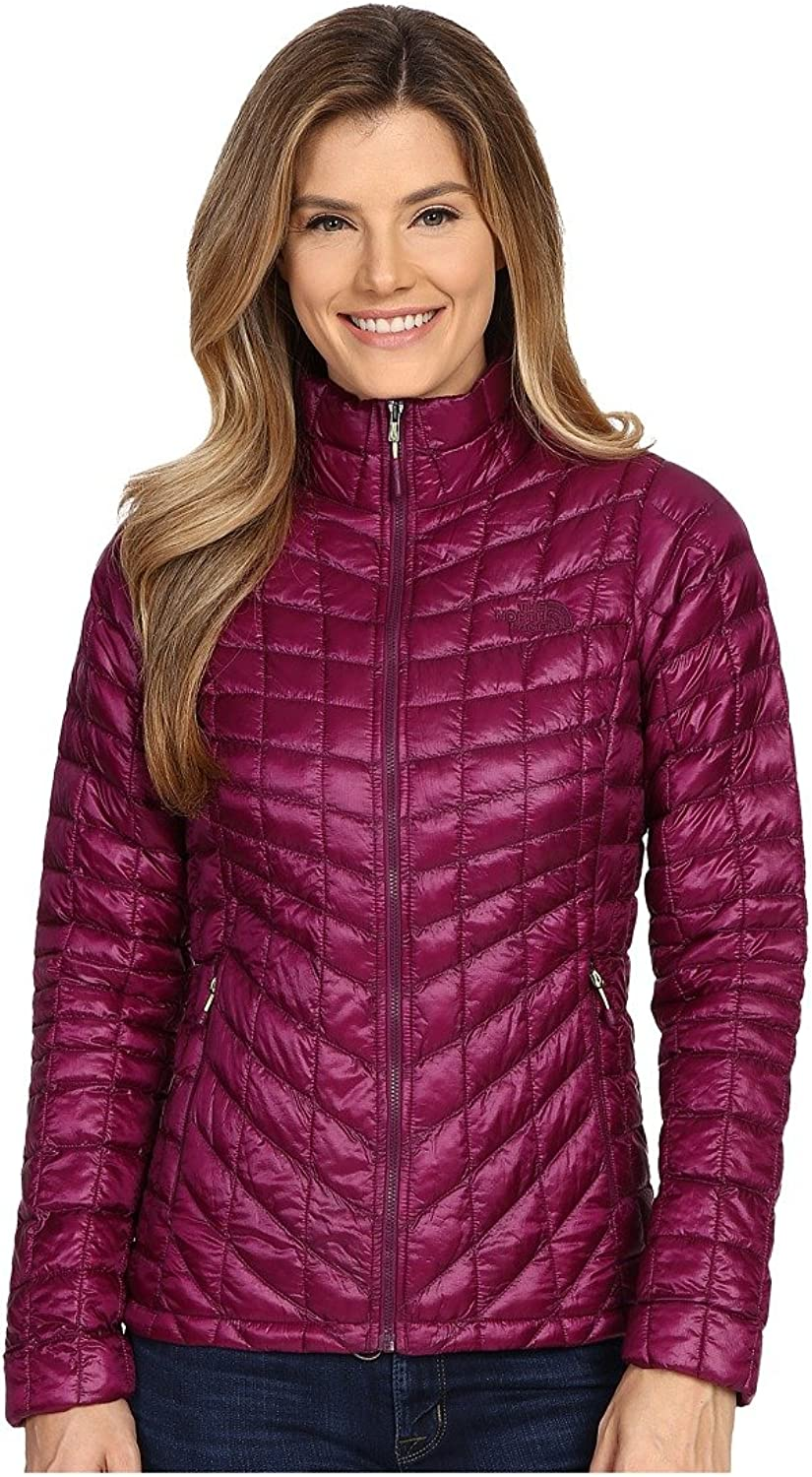 The North Face Womens Thermoball Full Zip Jacket (XSmall, Pamplona Purple)