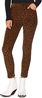 Sanctuary Womens Leopard Mid-Rise Pants