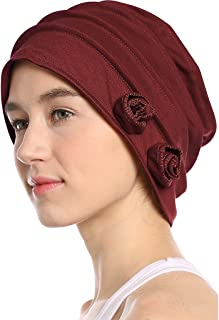 I wish Women's Lightweight Cotton Slouchy Beanies with Chemo Cancer Hair Loss - Fashion Caps