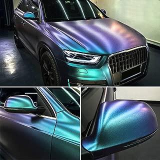 turquoise chrome vinyl wrap