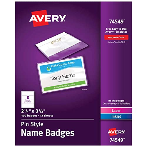 picture regarding Missionary Name Tag Printable named Avery Reputation Tag: