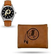 Rico Industries Washington Redskins Sparo Brown Watch and Wallet Set