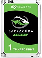 Seagate BarraCuda 1 TB Internal Hard Drive HDD – 3.5 Inch SATA 6 Gb/s 7200 RPM 64 MB Cache for Computer Desktop PC (ST1000DM010)