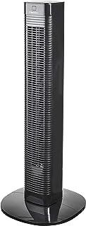 Bestron Ventilateur colonne oscillant avec minuterie, Hauteur : 80 cm, 50 W, Noir
