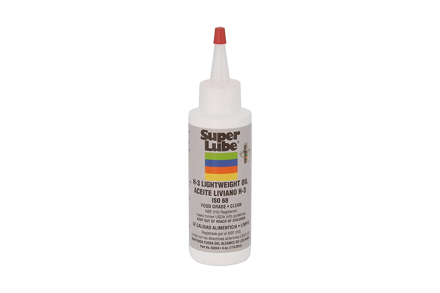 Super Lube 60004 H3 Lightweight Oil, Translucent Clear