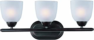 Maxim Lighting 11313 Axis Bath Vanity Light Fixture, Oil Rubbed Bronze Finish, 21 by 8.5-Inch