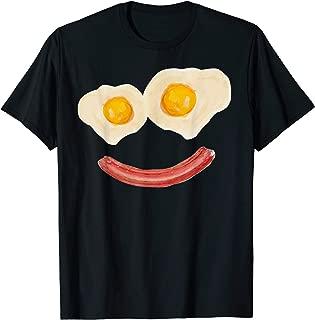 Eggs and Bacon Smiley Face TShirt Breakfast Brunch Tshirt