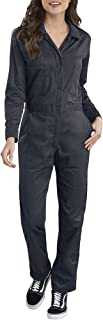womens Long Sleeve Cotton Twill Coverall