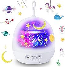 Star Night Lights, Kids Star Projector Night Light Projection Lamp Birthday Gifts for Children Baby Nursery Bedroom
