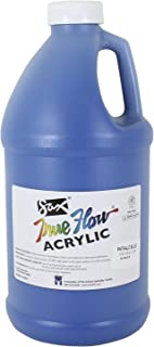 Sax True Flow Heavy Body Acrylic Paint, 1/2 Gallon, Phthaloyl Blue - 439283
