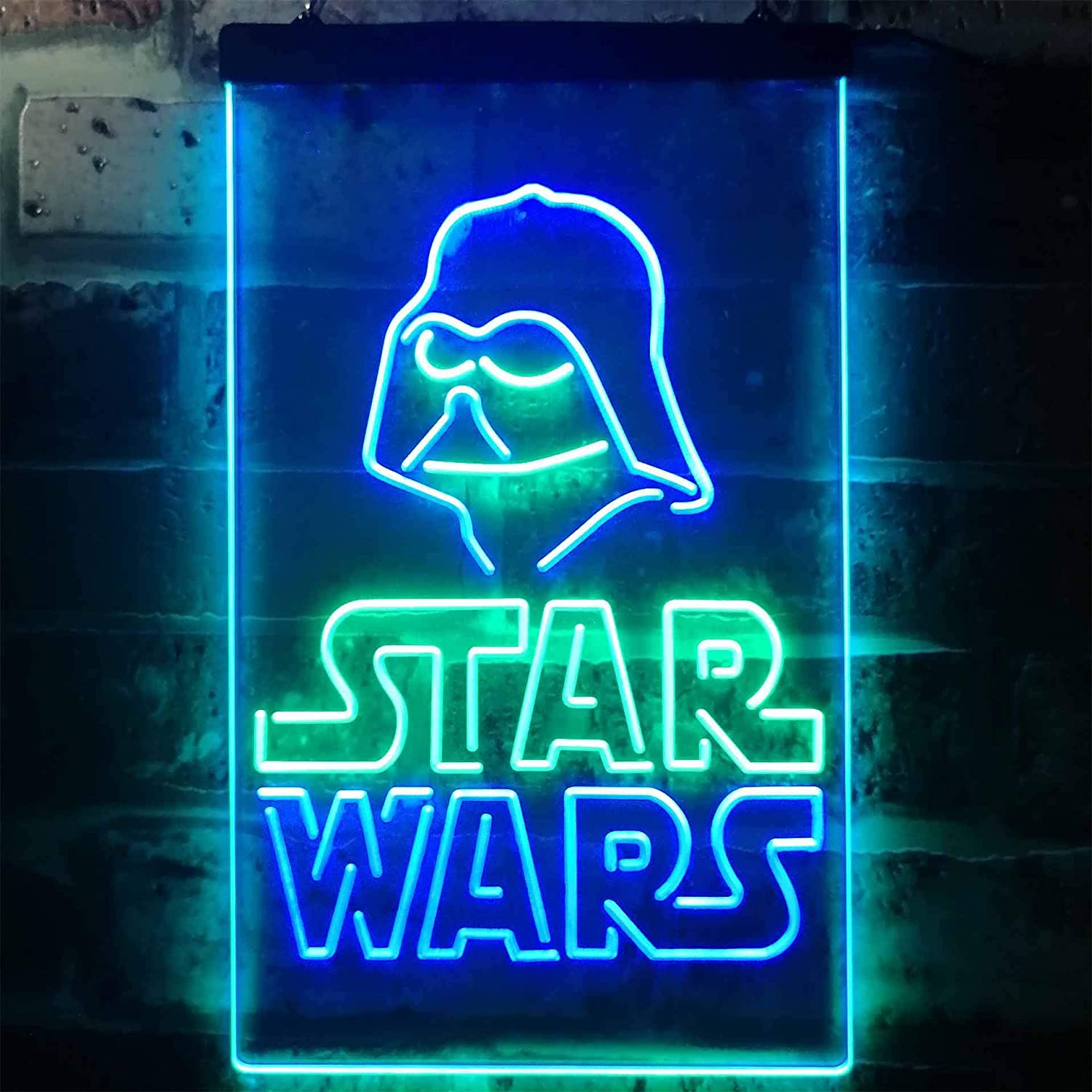 Stars Wars Ranking TOP16 Darth Vader Game Room Sign mart Colorful LED Neon Man Cave