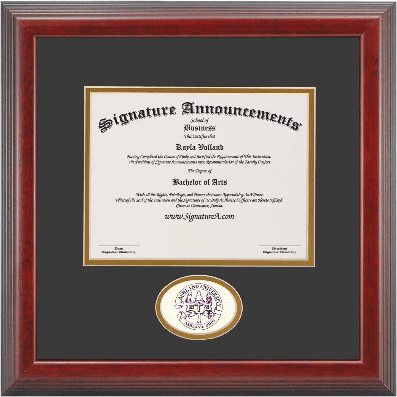 Signature Announcements Ashland University Undergraduate Gr OFFer AU security