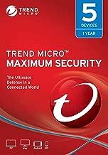 Trend Micro Maximum Security 2019, 5 User [Key Code] 2019