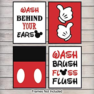 Best mickey mouse bathroom decor Reviews