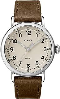 Timex Men's 40 mm Standard Leather Strap