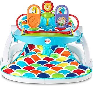 Fisher-Price Deluxe Sit-Me-Up - Asiento de suelo con bandeja de juguete