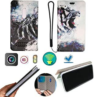 FY Flip Case For Tecno Pop 3 Plus Cover Flip PU Leather + Silicone Ring case Fixed HH