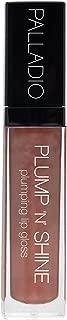 Palladio Plump 'N' Shine Lip Gloss, Mauvey