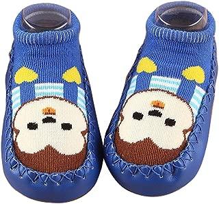 Gaorui Cute Baby Toddler Boy Girl Cartoon Prewalker Socks Shoes Child Soft Sole Boots