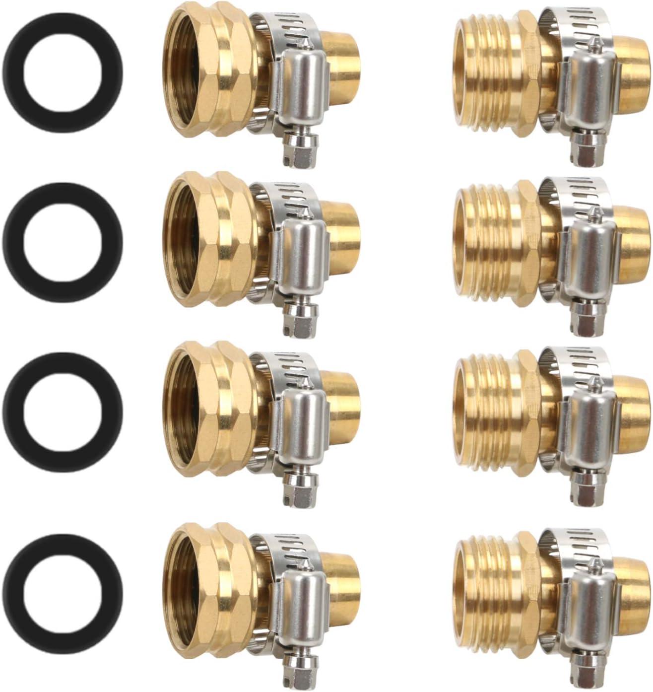 STYDDI Garden Hose Repair Kit Solid Female online shop Max 81% OFF Mal and Brass Mender
