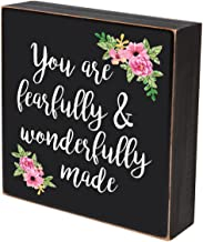 LifeSong Milestones You are Fearfully and Wonderfully Made Wall Art Decor Print Sign Decoration 6