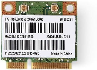 Richer-R Mini Tarjeta de Bluetooth WiFi, 2 en 1 Bluetooth Tarjeta WiFi de Doble Banda,Tarjeta 2,4/5G Dual-Band con Señal R...