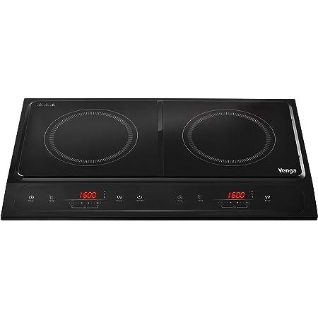 Venga! VG EKP 3000 - Cocina de inducción portátil de dos ...