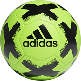adidas Unissex - Bola de futebol Starlancer Club adulto, SIGGNR/preta, 5