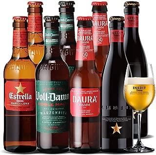 厳選 スペインビール8本セット 4種×各2本 8本セット [瓶][ギフト][詰め合わせ][飲み比べ][オクトーバーフェスト][長S]