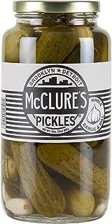 McClure's Garlic Dill Pickles (Whole) - 32 oz