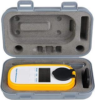 Compteur de Concentration de Bière Numérique Hydromètre Réfractomètre de Bière Portable Outil de Mesure du Sucre +-0.002 P...