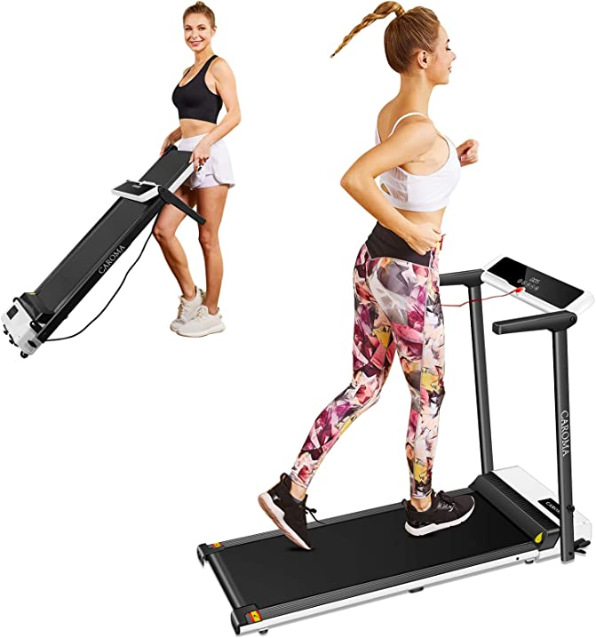 Tapis roulant elettrico pieghevole salvaspazio tapis roulant per fitness casa caroma B08VHWQCNP
