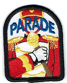Boy Girl Cub Marching Parade Drum Major Fun Patches Crest Badges Guide/Scout
