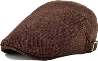 Men's Cotton Flat Ivy Gatsby Newsboy Driving Hat Cap