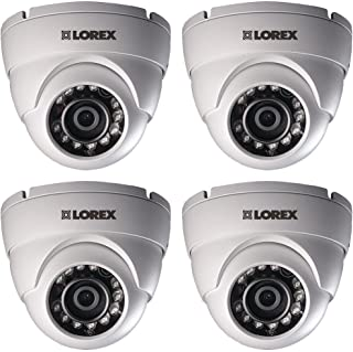 LOREX LEV1522PK4B LEV1522B Super HD Dome Security Cameras for Lorex(R) HD DVR 4pk
