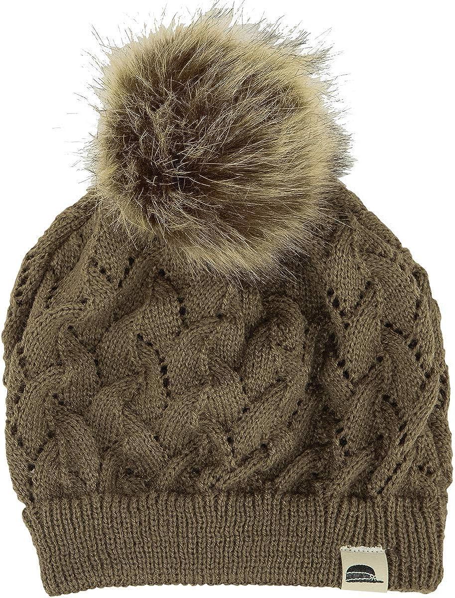 Stormy Kromer The Pompom Beanie - Stylish Warm Winter Hat with Faux Fur Pompom