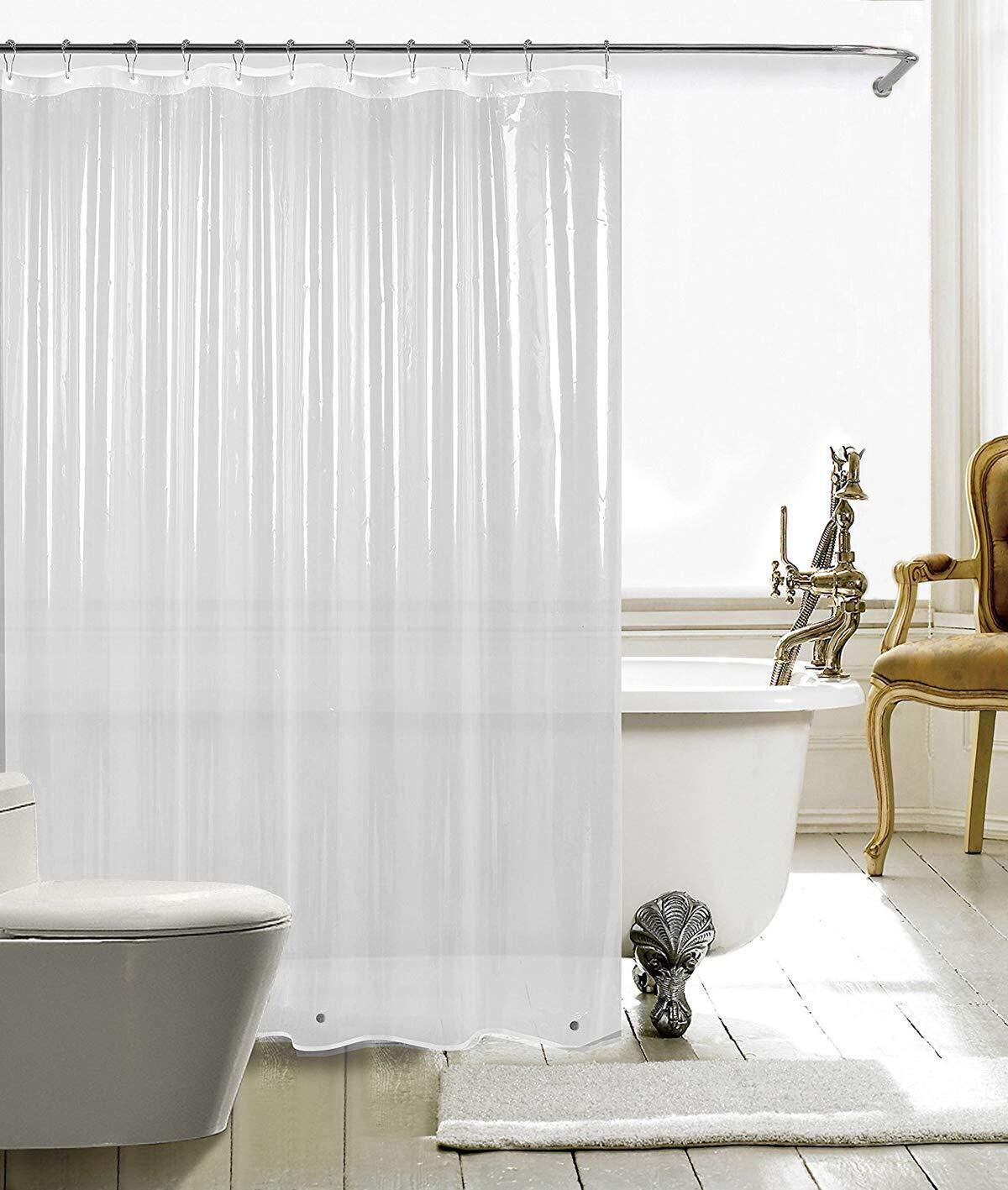 HARBOREST Shower Curtain Liner Clear