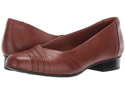 Clarks Juliet Petra (Tan Leather) Women