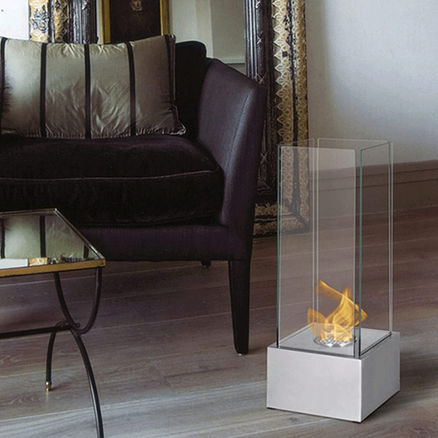 Portable Tabletop Fireplace Outdoor Colorado Springs Mall Fire Spasm price Clean Pit Bu