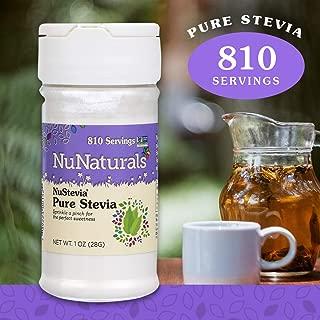Best nunaturals nustevia stevia extract Reviews