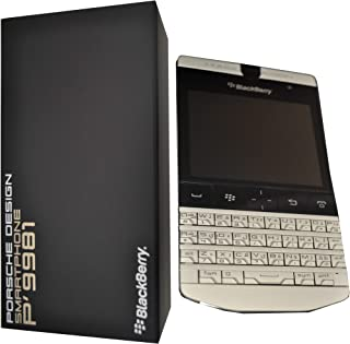 Blackberry Porsche Design P'9981 (QWERTY English + Arabic Keypad) 8GB Factory Unlocked (GSM Only, No CDMA) 3G Smartphone - International Version (Dark Platinum / Silver)