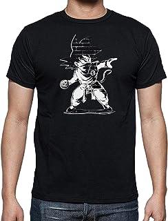JUL Camiseta Dragon Ball, Goku Saga Anime de Son Goku y Vegeta,Camiseta Algodon Dragon Ball, Dargon, Ball