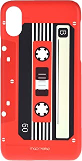 Macmerise IPCIXSPMI0330 Casette Red - Pro Case for iPhone XS - Multicolor (Pack of1)